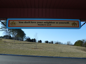 You shall love your neighbor as yourself. Matthew 22:39