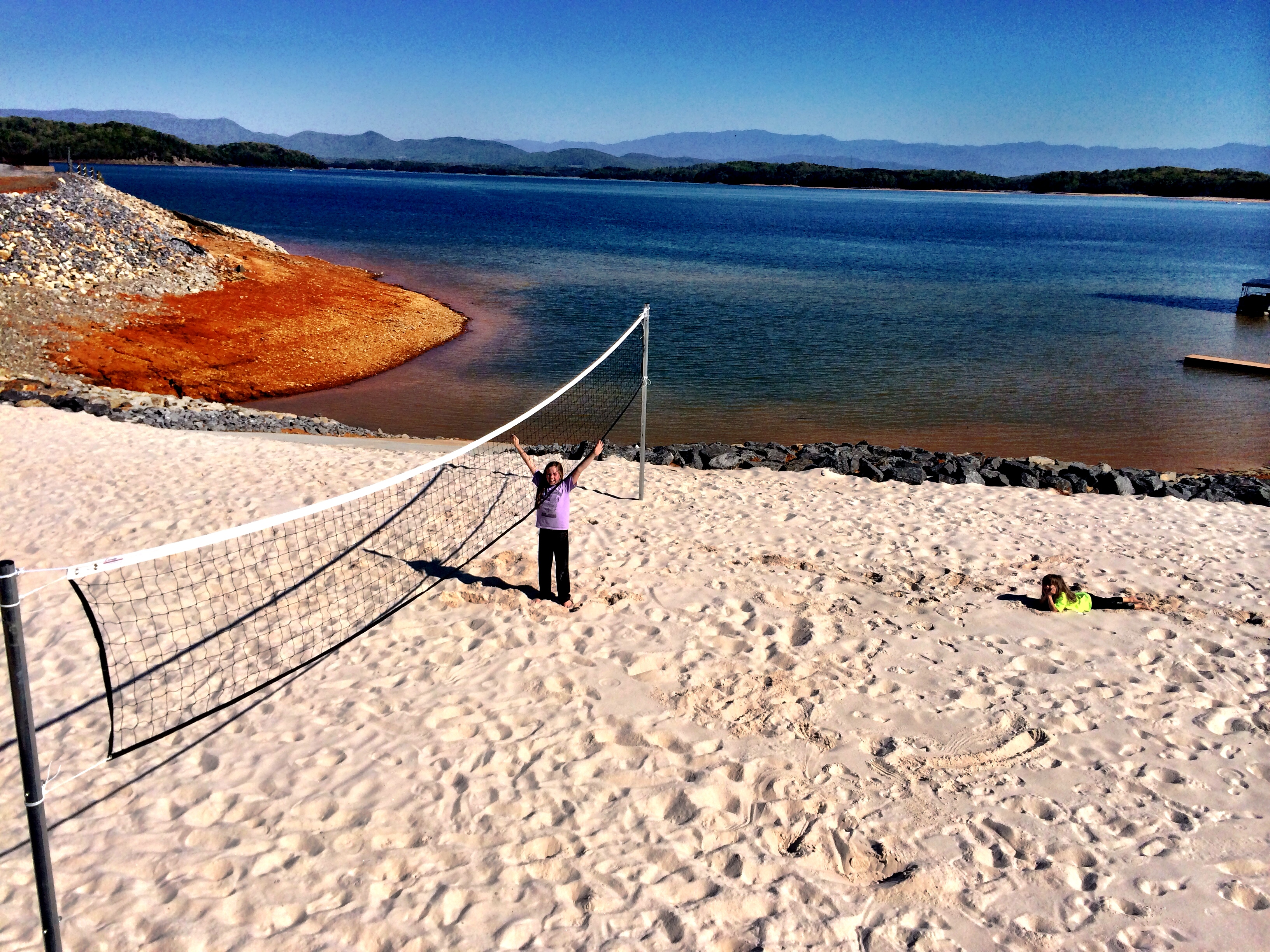 Sandy Beach / Volleyball Area