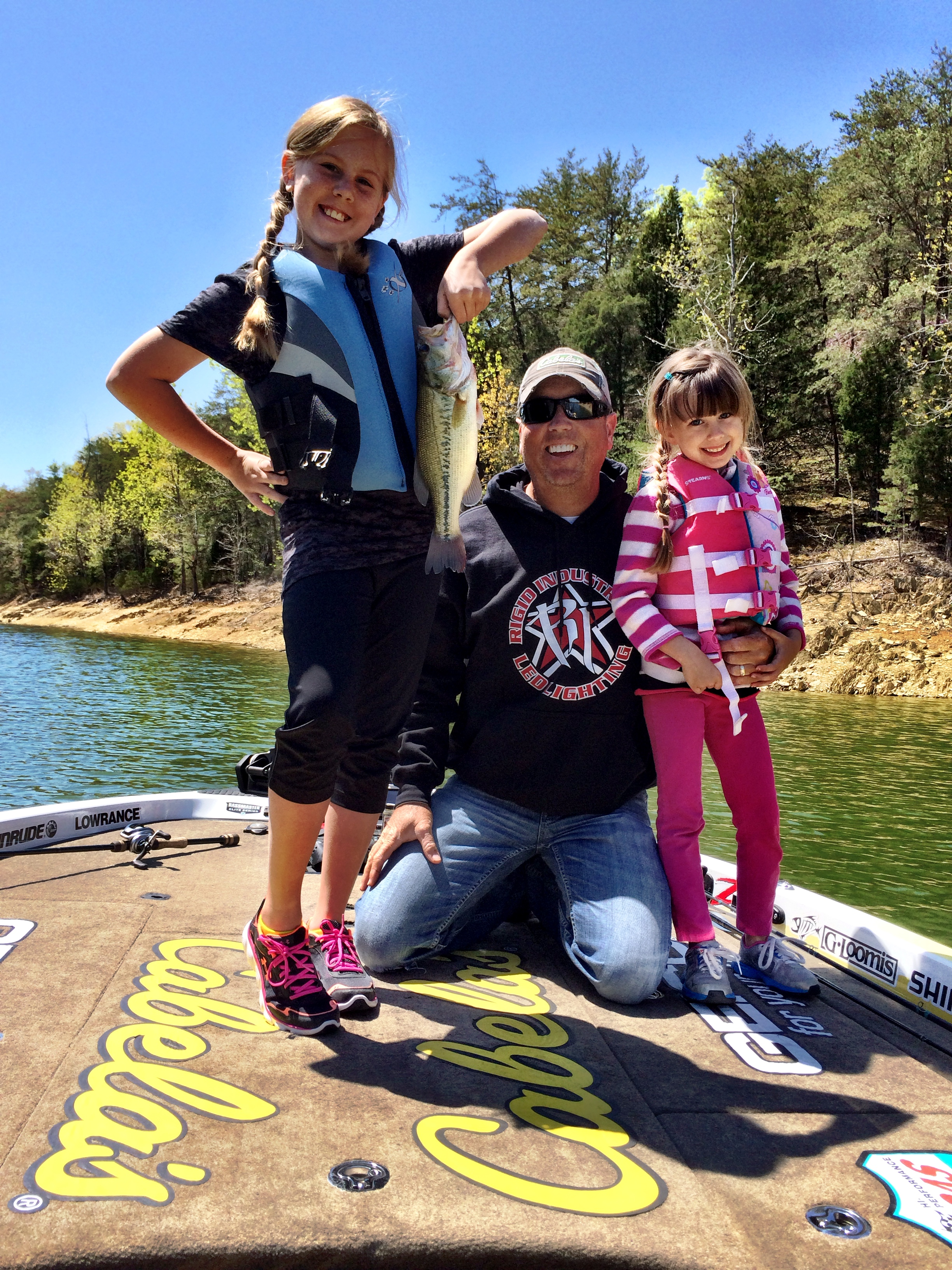 David Walker and his youngins catching the big ones!
